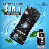 Sữa Tắm Charme Nam 500Ml (tặng kèm nước hoa mini Luxury)