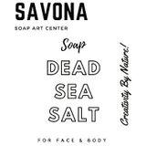MUỐI TẮM SAVONA - MUỐI BIỂN & BÙN KHOÁNG ISRAEL -  イスラエルの海の塩