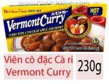 VIÊN CÔ ĐẶC CÀ RI NHẬT BẢN 230G - HOUSE FOODS VERMONT CURRY