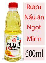 RƯỢU NẤU ĂN NGỌT NHẬT BẢN - MIRIN FU 600ML