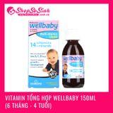 Vitamin tổng hợp Wellbaby 150ml (6 tháng - 4 tuổi)