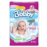Miếng lót Bobby size Newborn 1 64 miếng (dưới 5kg) | Shop Sơ Sinh 456758