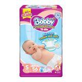 Bỉm - Tã dán Bobby size S56 miếng (cho bé 4 - 7kg) | Shop Sơ Sinh 456829