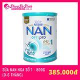 Sữa NAN Nga Số 1 - 800g (Cho trẻ từ 0-6 tháng)