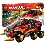 Lego - Ninja: Thunder Swordsman - 755 Mảnh - 10325