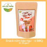 Snack Nấm Bào Ngư ( Vị BBQ), Khối Lượng 35gam
