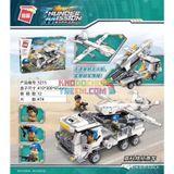 Lego - Qman Thunder Mission - 474 mảnh - 3215