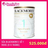 Sữa Blackmores Newborn Số 1 900gr (0 - 6 Tháng)