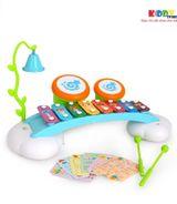 Đồ Chơi Đàn Gỗ Cầu Vồng Hulle toys.909- KiddyStore-1190949HM