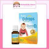 BABY DDROPS VITAMIN D3 CỦA MỸ 400IU