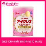 Sữa Glico Icreo Nhật Bản số 0 (0-12 tháng)