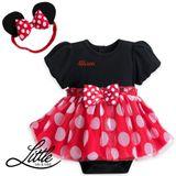 Body Chip Bé Gái - Váy Trẻ Em Kèm Băng Đô Minnie Mouse #SD1