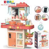 Bộ Quầy Bếp Size To Spraying Mist Kitchen 42 Chi Tiết, Bộ đồ chơi nấu ăn