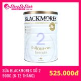 Sữa Blackmores Follow-on số 2 900gr (6-12 Tháng)