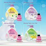 Sữa Tắm Charme Nước Hoa 1000ml (tặng kèm nước hoa mini Good Girl)