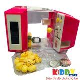 bộ đồ chơi máy gắp thú, kẹo mini nhộn nhịp dành cho bé