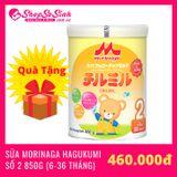 [CÓ QUÀ TẶNG] Sữa Morinaga Nhập Khẩu Chilmil số 2 850g (6-36 Tháng)