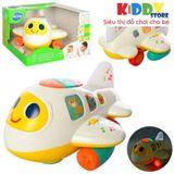 Đồ Chơi Máy Bay Pin Huile Toys  6103 - Đồ Chơi An toàn Cho Bé Từ 1 Tuổi - Đồ Chơi Phát Triển Trí Tuệ