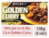 VIÊN CÀ RI CÔ ĐẶC NHẬT BẢN 198G - GOLDEN CURRY