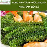 Rong nho Aibudo - Tặng 10 gói sốt mè rang