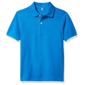 Polo T-Shirt Blue Fabric Lascote 02