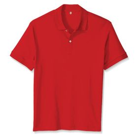 Polo T-Shirt Red Fabric Lascote 04