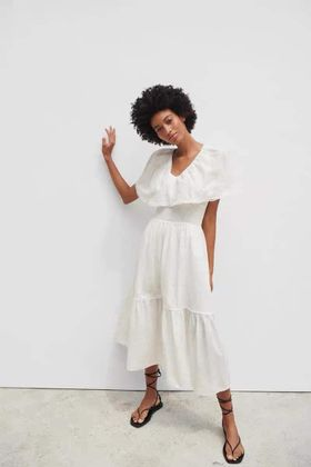 Váy trắng