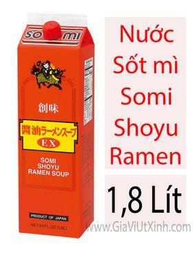 NƯỚC SỐT MÌ SHOYU NHẬT BẢN - SOMI SHOYU RAMEN SOUP 1,8 LÍT