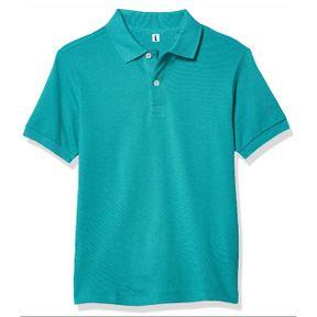 Polo T-Shirt Light Blue Fabric Lascote 01