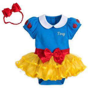 Body Chip Bé Gái - Váy Trẻ Em Kèm Băng Đô Snow White (Bạch Tuyết) #SD1