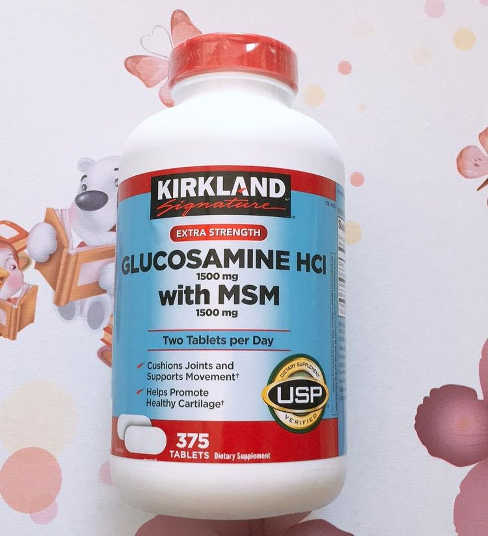 Viên Uống Hỗ Trợ Xương Khớp Glucosamine 375 Viên 1